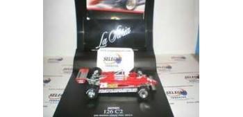 Ferrari 126 C2 La Storia Formula 1 escala 1/43 Hot Wheels coche miniatura metal
