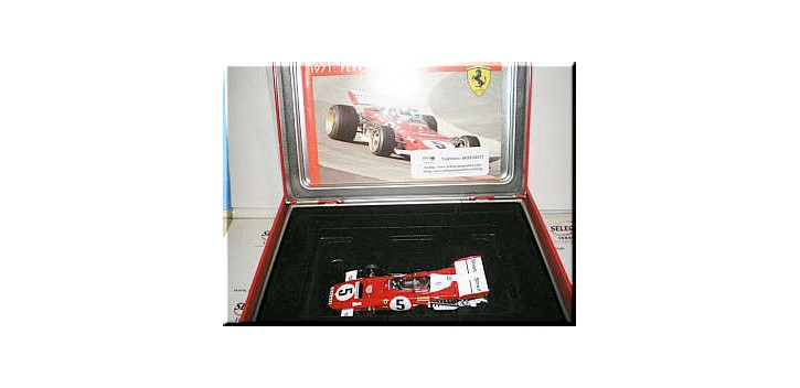 FERRARI 312 B2 1971 J. ICKK - HOT WHEELS 1/43