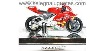 Honda RC212V Melandri escala 1/18 Saico moto miniatura metal