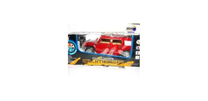 coche miniatura Coche tipo todo terreno rojo escala 1/16