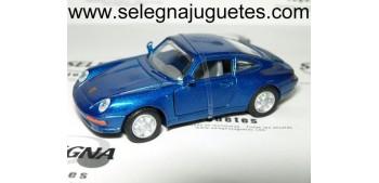 Porsche 911 azul 1/43 Motor max coche metal