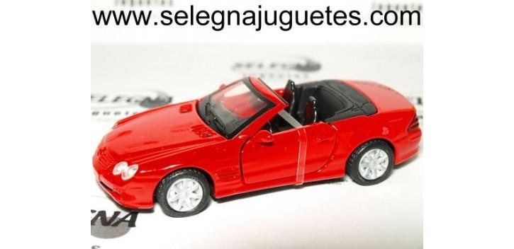 MERCEDES BENZ SL 500 1/43 MOTOR MAX COCHE METAL