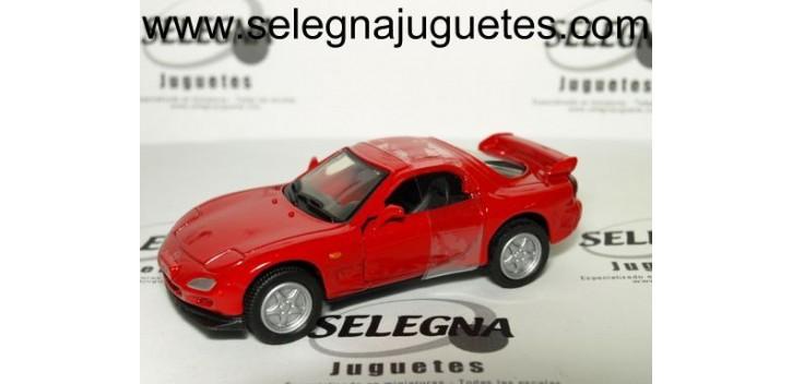 Mazda RX-7 rojo 1/43 Motor max coche metal