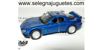 Mazda RX-7 azul 1/43 Motor max coche metal