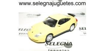 PORSCHE 911 AMARILLO escala 1/43 coche miniatura metal