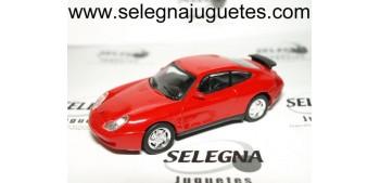 PORSCHE 911 ROJO escala 1/43 coche miniatura metal