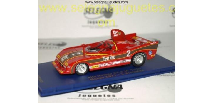 ALFA ROMEO 33.3 SC TURBO MONZA 1977 BRAMBILLA 1/43 M4