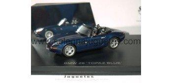 BMW Z8 TOPAZ BLUE escala 1/43 coche miniatura metal