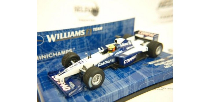 WILLIAMS BMW FW22 SHOWCAR 2001 RALF SCHUMACHER FORMULA 1 1/43 MI