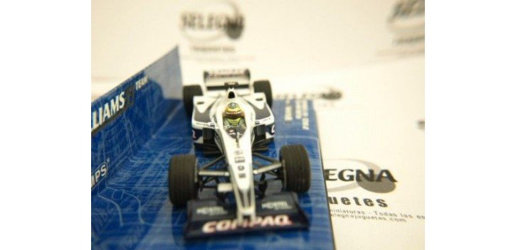 WILLIAMS BMW FW22 R.SCHUMACHER BRASIL FORMULA 1 1/43 MINICHAMPS