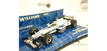 WILLIAMS BMW FW22 R.SCHUMACHER BRASIL FORMULA 1 1/43 MINICHAMPS