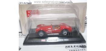 Maserati A6GCS 1954 escala 1/43 Hachette coche miniatura metal