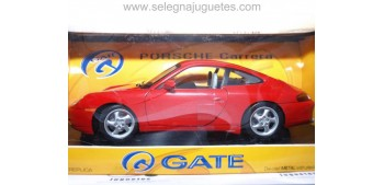 coche miniatura Porsche Carrera escala 1/18 Gate coche miniatura
