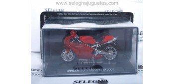 Ducati 999 Testatretta 2003 escala 1/24 Ixo moto miniatura metal