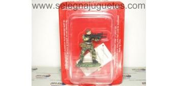 lead figure Commando Marine France scale 1:32 Altaya