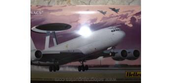 "miniature airplane E-3 F / E-3 B ""AWACS"" 1/72 Maqueta Avión"
