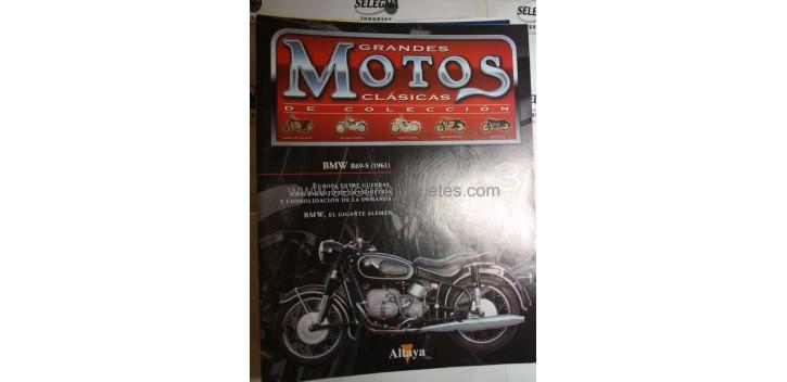 Grandes Motos Clasicas - Fasciculo 03 - Bmw R69-s 1961