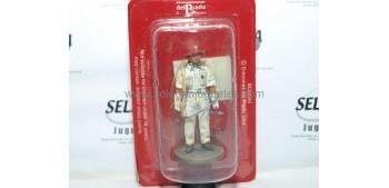 lead figure Bombero auxiliar Singapur 1941 Figura Plomo 1/30