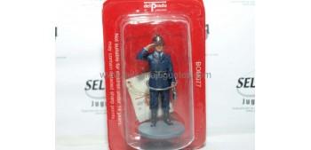 soldado plomo Bombero con traje de trabajo Italia 1956 Figura