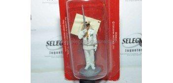 Bombero Oficial con traje de gala Marsella Francia 1982 Figura Plomo 1/30