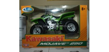 miniature motorcycle Kawasaki Mojave 250 Quad 1/6 NEW RAY