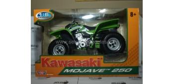 moto miniatura Kawasaki Mojave 250 Quad 1/6 NEW RAY