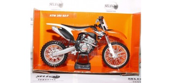 miniature motorcycle KTM 350 SX F scale 1:12 New ray Miniature