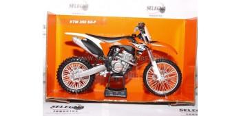 KTM 350 SX F 1/12 New ray moto en miniatura