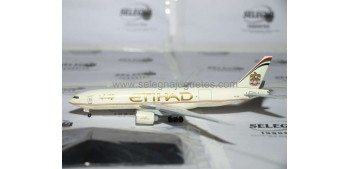 miniature airplane Boeing 777-FFX Etihad escala 1/400 Dragon