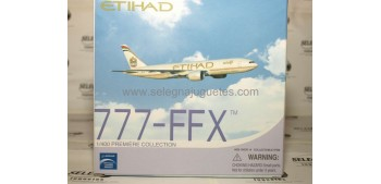 Boeing 777-FFX Etihad escala 1/400 Dragon Aviones metal