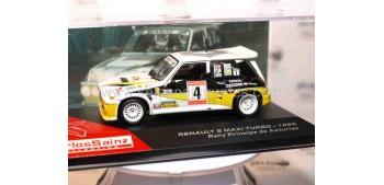 Renault 5 maxi turbo 1986 Carlos Sainz escala 1/43 Ixo