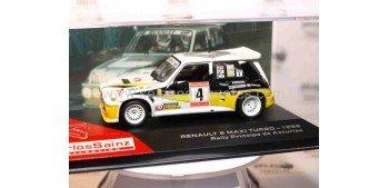 Renault 5 maxi turbo 1986 Carlos Sainz 1/43 Ixo coche miniatura