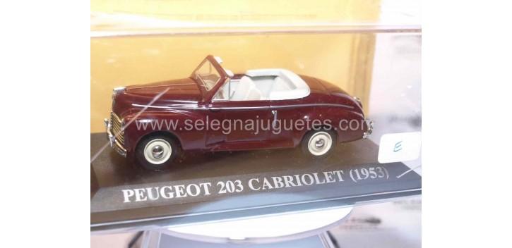 Peugeot 203 cabriolet 1953 Ixo 1/43 coche miniatura metal