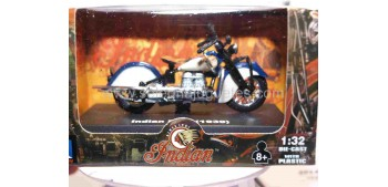 Indian Four 1939 escala 1/32 New Ray moto minaitura