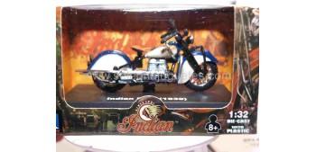 Indian Four 1939 escala 1/32 New Ray moto minaitura