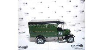 Ford TT Van 1926 New York (Camión Policia) Matchbox camión metal en miniatura