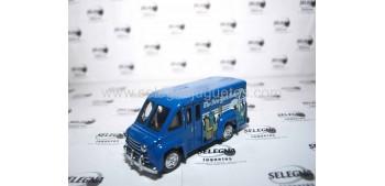 Dodge Route Van New York (Camión Prensa) Matchbox camión metal en miniatura