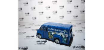 Dodge Route Van New York (Camión Prensa) Matchbox camión meta