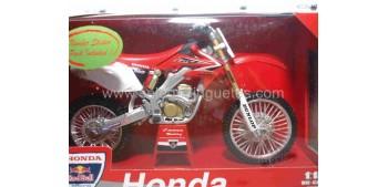 Honda CRF 450 R escala 1/12 New ray moto en miniatura