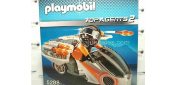 Playmobil - Motorista Top Agents 2 (moto espia) referencia 5288