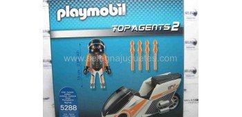 Playmobil - Motorista Top Agents 2 (moto espia) referencia 5288