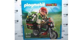 Playmobil - Motorista Dinos (cazador de dinosaurios) referencia 5237