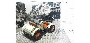 Opel Lutzman + muñecos escala 1/43 Vitesse coche metal miniatura