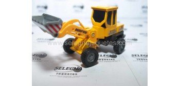 Excavadora (sin caja) escala aproximada 1/65 cararama vehículo miniatura