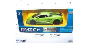 Lamborghini Gallardo Lp570-4 verde escala 1/32 RmZ coche metal miniatu