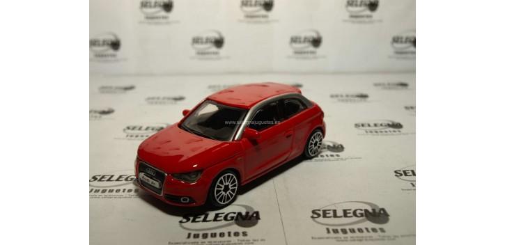 Audi A1 1/43 Burago Coche metal miniatura sin caja