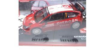 Citroen C4 WRC Loeb - Elena Montecarlo 2007 escala 1/43 Altaya Coche metal miniatura