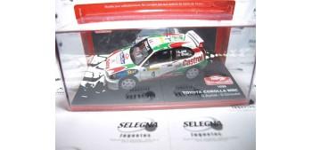 Toyota Corolla WRC Auriol - Giraudet Montecarlo 1999 escala 1/43 Altaya Coche metal miniatura