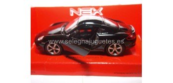 Porsche Cayman S negro escala 1/34 a 1/39 Welly Coche metal miniatura