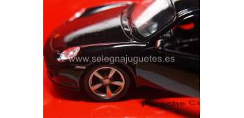 Porsche Cayman S negro escala 1/34 a 1/39 Welly miniature scale